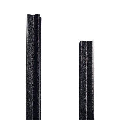 — 009527 — Gallagher Deze kunstofpalen zijn ideaal voor permanente afrasteringen. De palen zijn zelfisolerend waardoor isolatoren overbodig zijn. Het kruisprofiel van de palen zorgt ervoor dat ze stevig in de grond staan. De geleider kan bevestigt worden door bevestigingsdraadjes en er zitten voorgemonteerde gaten in op voorkeurshoogte. De palen zijn van 100% gerycled kunstof en heeft een levensduur tot 30 jaar. 009527 —