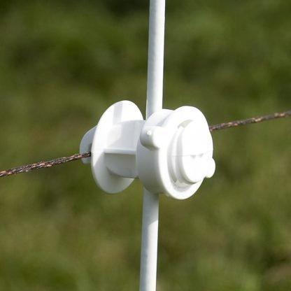 — 010943 — Gallagher Voor het toevoegen van een draad op een ronde of ovale afrasteringspaal met een diameter van ø 6 tot 16mm. 010943 — Gallagher