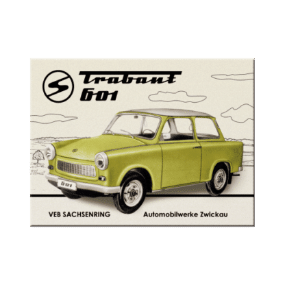 — NA14218 — Magnet 'Trabant 601' — Nostalgic Art