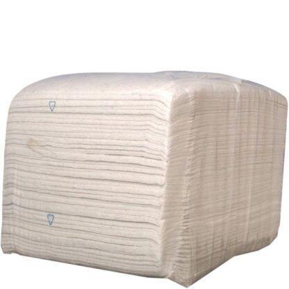 10 kg baal Kroon-Oil Wegwerpdoeken Wit