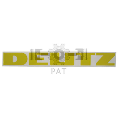 — 154049016 — Deutz,,Sticker, 154049016 — Deutz