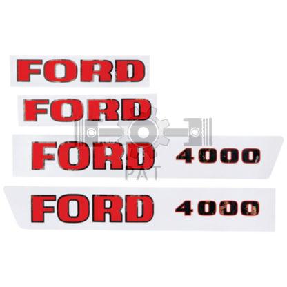 — 15405254 — Fordson en Ford,,Stickerset, 15405254 — Fordson en Ford