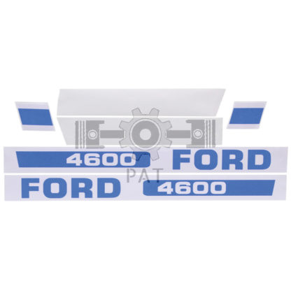 — 15405465 — Fordson en Ford,,Stickerset, 15405465 — Fordson en Ford
