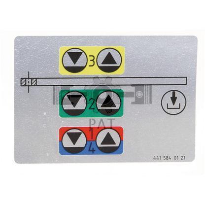 60 L drum Kroon olie Armado Synth LSP Ultra 5W-30 — 154131009 — Mercedes Benz,,Sticker, 154131009 —