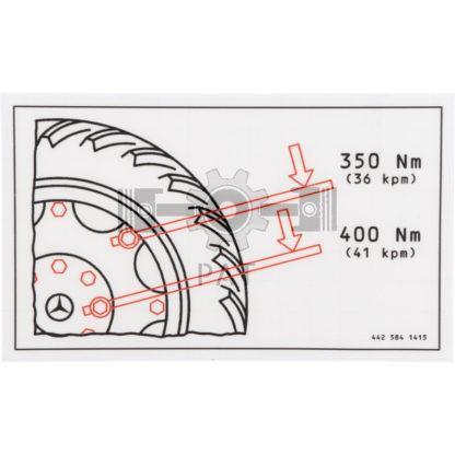 60 L drum Kroon olie Armado Synth LSP Ultra 5W-30 — 154131118 — Mercedes Benz,,Sticker, 154131118 —