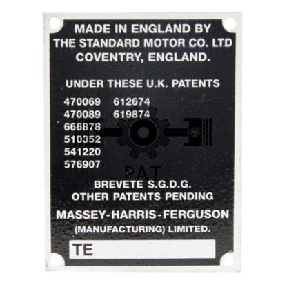 60 L drum Kroon olie Armado Synth LSP Ultra 5W-30 — 15415129 — Massey Ferguson,,Typeplaatje, 15415129 —