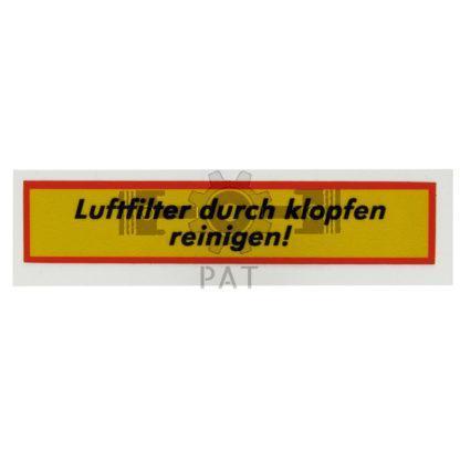 — 15416037 — Steyr,,Sticker, 15416037 — Steyr