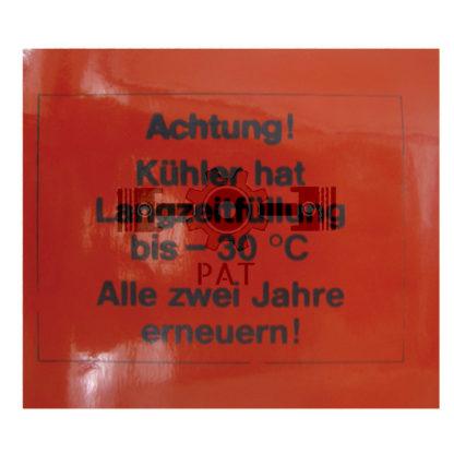 — 1550116928900 — Hanomag,,Achtung! Kühler, 1550116928900 — Hanomag
