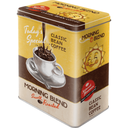 — NA30116 — Tin Box L 'Morning Blend' — Nostalgic Art