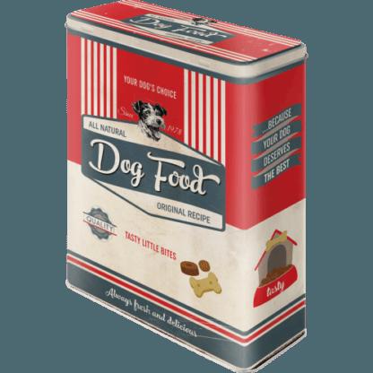— NA30326 — Tin Box XL 'PfotenSchild - Dog Food' — Nostalgic Art