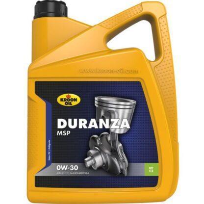 5 L can Kroon-Oil Duranza MSP 0W-30