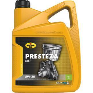 5 L can Kroon-Oil Presteza MSP 5W-30