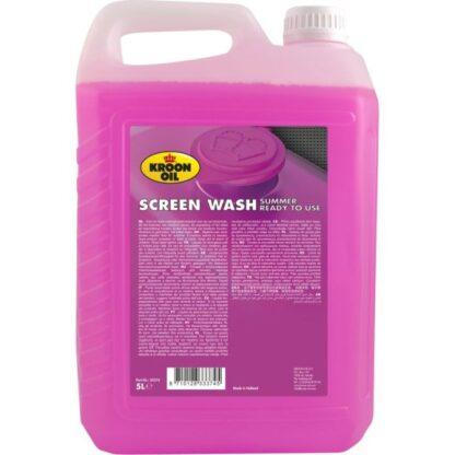 5 L can Kroon-Oil Screen Wash Summer