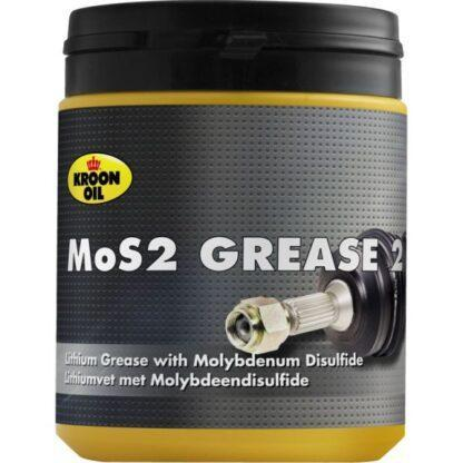 600 g pot Kroon-Oil MOS2 Grease EP 2