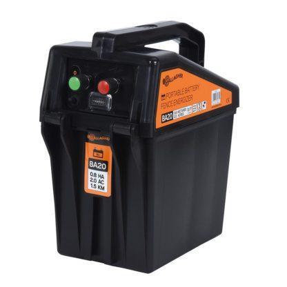 60 L drum Kroon olie Armado Synth LSP Ultra 5W-30 — 356310 — Gallagher De BA20 is het kleinste Gallagher batterij apparaat en is geschikt voor korte afrasteringen tot 2 km. Het apparaat is lichtgewicht en gemakkelijk mee te nemen, hierdoor is de BA20 ook zeer goed geschikt voor mobiele afrasteringen. Het apparaat heeft een ingebouwde bliksembeveiliging en wordt geleverd met een aansluitkabel set. Exclusief batterij. 356310 —
