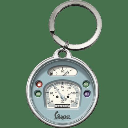 60 L drum Kroon olie Armado Synth LSP Ultra 5W-30 — NA48030 — Key Chain Round 'Vespa - Tacho' —