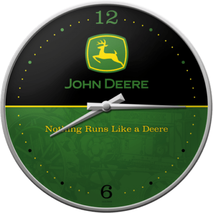 60 L drum Kroon olie Armado Synth LSP Ultra 5W-30 — NA51030 — Wall Clock 'John Deere Logo – Black and Green' —