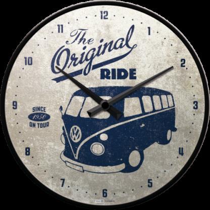 60 L drum Kroon olie Armado Synth LSP Ultra 5W-30 — NA51063 — Wall Clock 'VW Bulli - The Original Ride' —