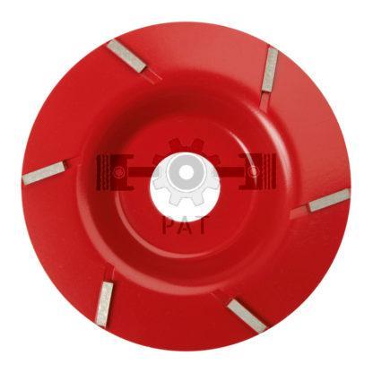 — 58016358 — • Ø 125 mm  • is professioneel gereedschap voor de klauwverzorging  • door de nieuwe geometrie en vo — GRANIT