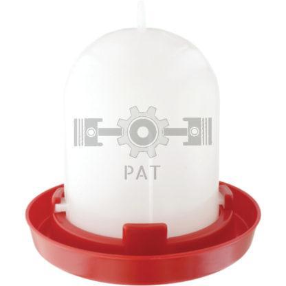— 580580018 — voor kuikens en hennen orig. Stükerjürgen   met automatische watertoevoer  ook geschikt om op te han — GRANIT