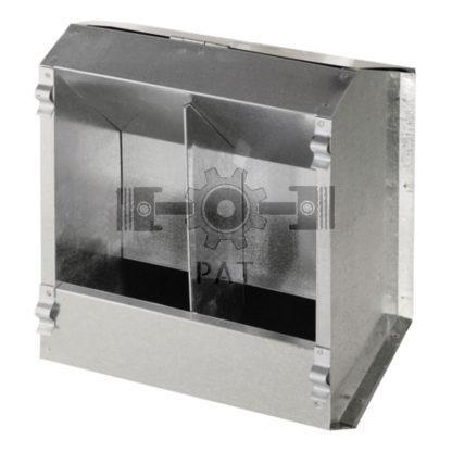 — 580580047 — • verzinkt  • met geperforeerde ronde bodem, en deksel voor stofvrij voeren  • van buiten aan te bre — GRANIT