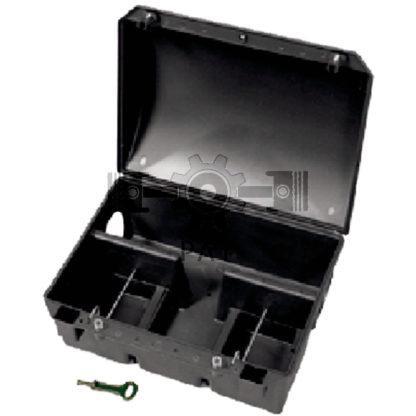 — 580580155 — Weerbestendige kunststof doos, voor bijvoorbeeld rattenaas en blokjes. In de loopgebieden van dieren — GRANIT