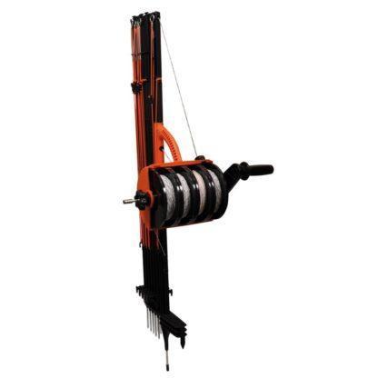 60 L drum Kroon olie Armado Synth LSP Ultra 5W-30 — 700045 — Gallagher SmartFence 2.0 is hét alternatief voor netten! Een revolutionair ontwerp waarbij palen, haspels en draden gecombineerd zijn tot 1 product. Zeer snel en eenvoudig te plaatsen én af te breken. Makkelijk draagbaar en op te bergen. Een snelle afrastering met een lengte van 100m (4 draden en 10 palen) en een zeer lage weerstand (0,10Ohm/m). 700045 —
