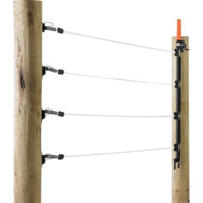 60 L drum Kroon olie Armado Synth LSP Ultra 5W-30 — 718040 — Gallagher De meest complete en eenvoudig te installeren alles-in-één meerdraadse doorgangsset op de markt. Biedt een voordelige oplossing voor vrijwel elke breedte doorgang. Wordt geleverd met 12,5mm lint. Ook geschikt voor 40mm lint met behulp van de meegeleverde 40 mm lintclips. 4 geleiders, 6 meter. 718040 —
