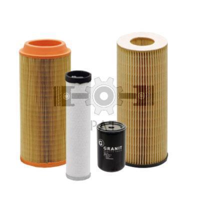 — 80002002 — motoroliefilter <br> brandstoffilter <br> hoofd-luchtfilter <br> secundaire luchtfilter — Case IH