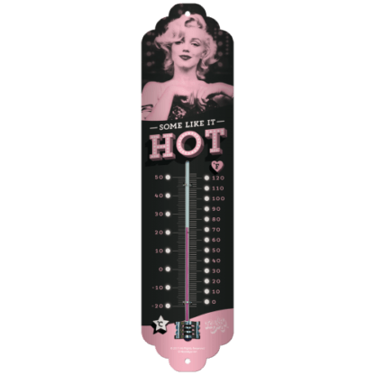 60 L drum Kroon olie Armado Synth LSP Ultra 5W-30 — NA80317 — Thermometer 'Marilyn - Some Like It Hot' —