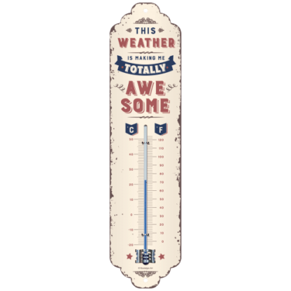60 L drum Kroon olie Armado Synth LSP Ultra 5W-30 — NA80328 — Thermometer 'Awesome Weather' —