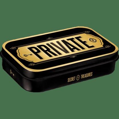 — NA82120 — Mint Box XL 'Private' — Nostalgic Art