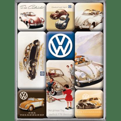 60 L drum Kroon olie Armado Synth LSP Ultra 5W-30 — NA83023 — Magnet Set (9pcs) 'VW Classic' —