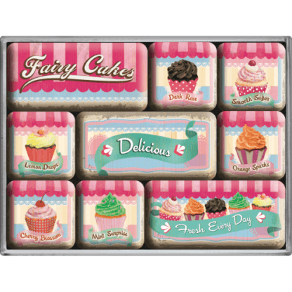 60 L drum Kroon olie Armado Synth LSP Ultra 5W-30 — NA83055 — Magnet Set (9pcs) 'Fairy Cakes - Delicious' —