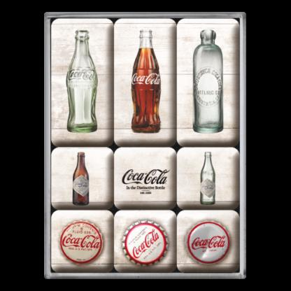 60 L drum Kroon olie Armado Synth LSP Ultra 5W-30 — NA83082 — Magnet Set (9pcs) 'Coca-Cola - Bottle Timeline' —