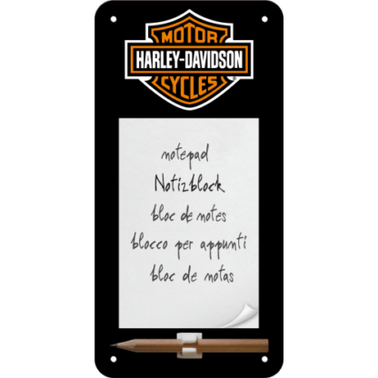60 L drum Kroon olie Armado Synth LSP Ultra 5W-30 — NA84020 — Magnetic Notepad 'Harley-Davidson Logo' —