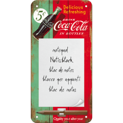 60 L drum Kroon olie Armado Synth LSP Ultra 5W-30 — NA84038 — Magnetic Notepad 'Coca-Cola - Delicious Refreshing Green' —