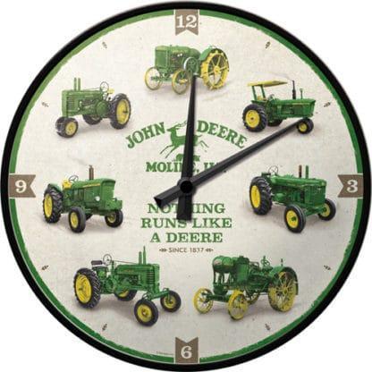 60 L drum Kroon olie Armado Synth LSP Ultra 5W-30 — NA51094 — Wall Clock 'John Deere - Model Chart' —