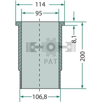60 L drum Kroon olie Armado Synth LSP Ultra 5W-30 — 15406214 — Fendt,D 208,Cilinderbus, 15406214 —