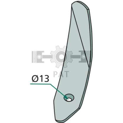 — 180101.IND-400L — 80 x 8 x 420 — Köckerling