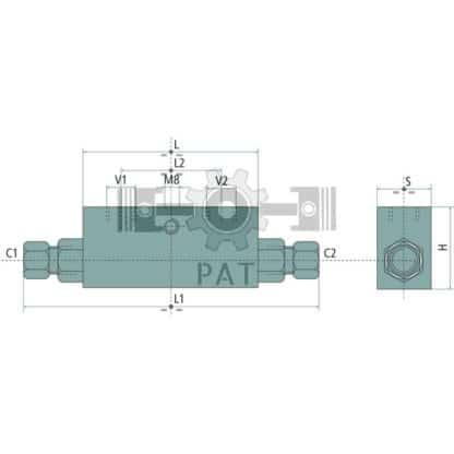 """60 L drum Kroon olie Armado Synth LSP Ultra 5W-30 — 85002121 — 1/4"""" C1 - C2: 12L 1:5,5 350 — Granit"""