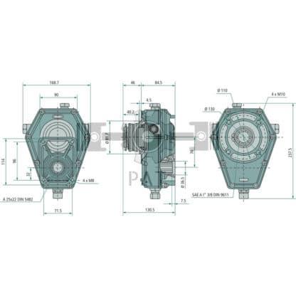 60 L drum Kroon olie Armado Synth LSP Ultra 5W-30 — 87000763 — 1:3,8 ingaand: 15,9 uitgaand: 4,2 ingaand: 540 uitgaand: 2052 10 — Granit