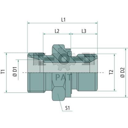 "60 L drum Kroon olie Armado Synth LSP Ultra 5W-30 — 87003142 — M26 x 1.5 G 3/4"" 18 38 — Granit"