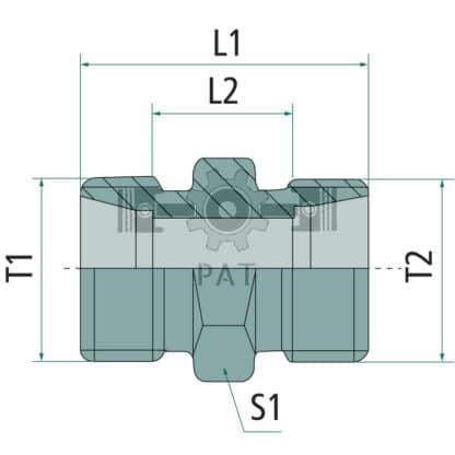 60 L drum Kroon olie Armado Synth LSP Ultra 5W-30 — 87003150 — M16 x 1.5 M16 x 1.5 10 27 — Granit