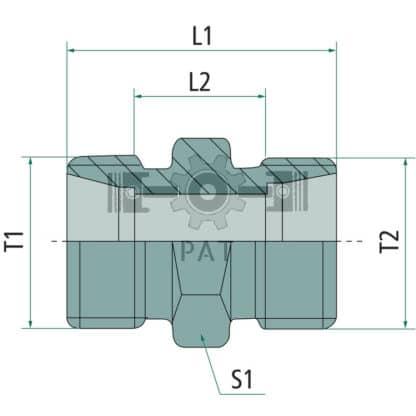 60 L drum Kroon olie Armado Synth LSP Ultra 5W-30 — 87003165 — M22 x 1.5 M16 x 1.5 15 10 — Granit